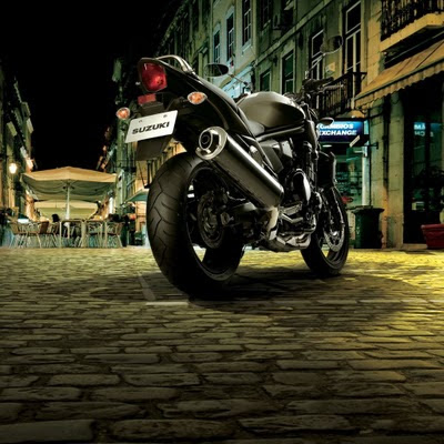 The Suzuki Bandit download free wallpapers for Apple iPad