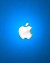 Apple, plavi logo download besplatne slike sličice pozadine za mobitele