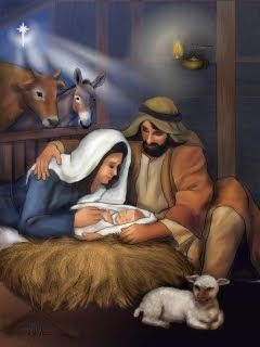 Jaslice, Isus se rodio, Božić download besplatne pozadine slike za mobitele