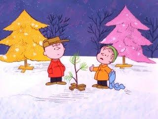 Charlie Brown sadi borić za Božić, crtani film download besplatne pozadine slike za mobitele