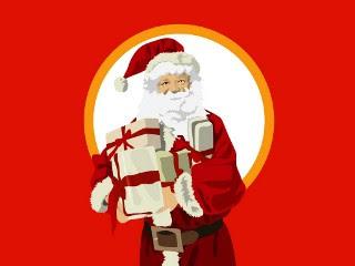 Djed Mraz Božićne slike Novogodišnje čestitke besplatne pozadine za mobitele download hr