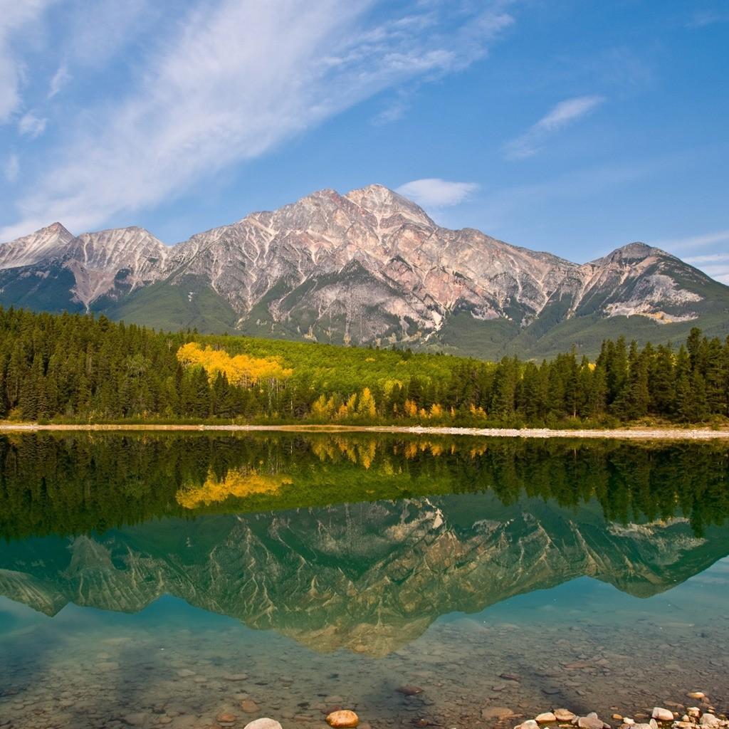 Mountain Lake Reflection Wallpapers Hdwpics