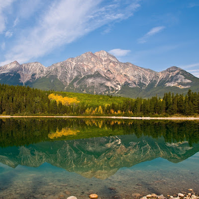 Mountain Lake Reflection download free wallpapers for Apple iPad