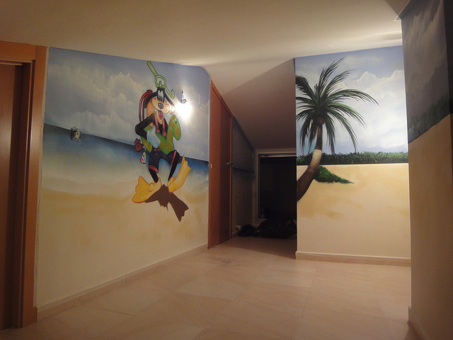 Berok graffiti mural profesional en barcelona cuartos for Graffitis para habitaciones