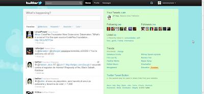 Nuevo Twitter - Timeline
