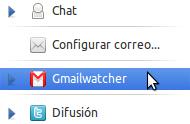 Gmailwatcher en Ubuntu