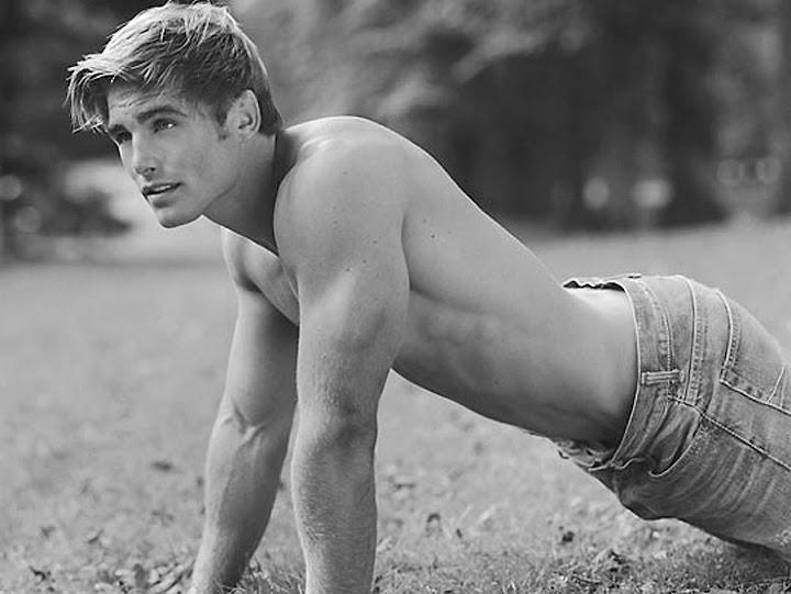 Abercrombie male model