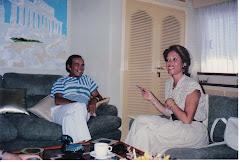 Καλοκαίρι 1987. Ο Κρίστιαν Μπάρναντ στην Πάρο
