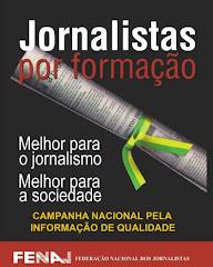 Jornalista por formação