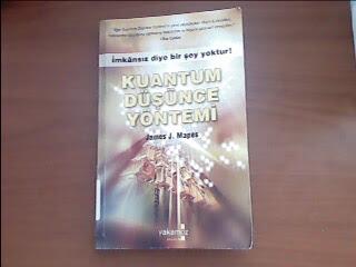 Kuantum düşünce yöntemi aslı kitabın ön kapak resmi