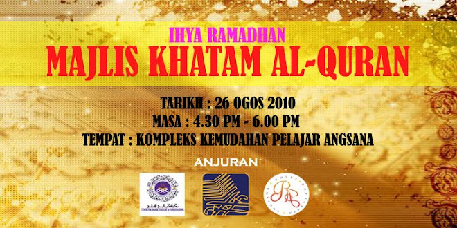 Majlis Khatam Al-Quran 2010