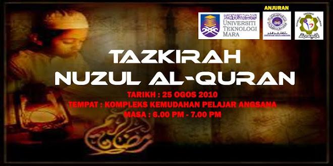 TAZKIRAH NUZUL AL-QURAN