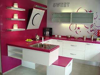 Dise o y decoraci n de cocinas for Muebles de cocina con persiana