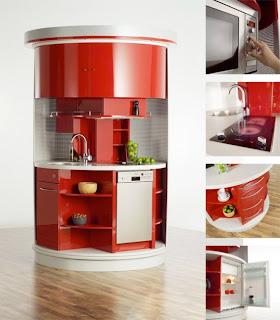 cocina-redonda-roja-auto-suficiente-madrid-linea-3-cocinas