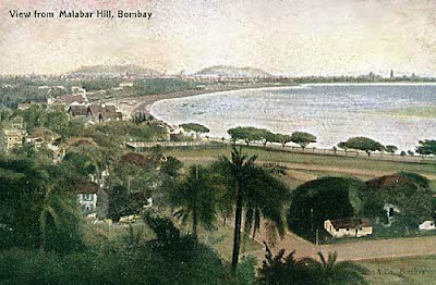 Malabar hill, mumbai, old pictures, bombay