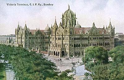 Victoria Terminus, Mumbai, central railway, bombay