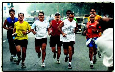 Anil Ambani Running Mumbai