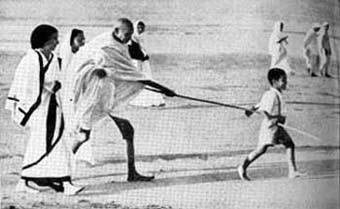 Gandhi Juhu Beach