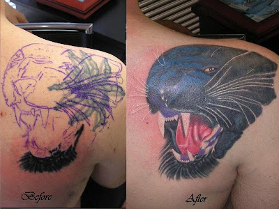 Cover - Up Tattoo Modelleri - 2