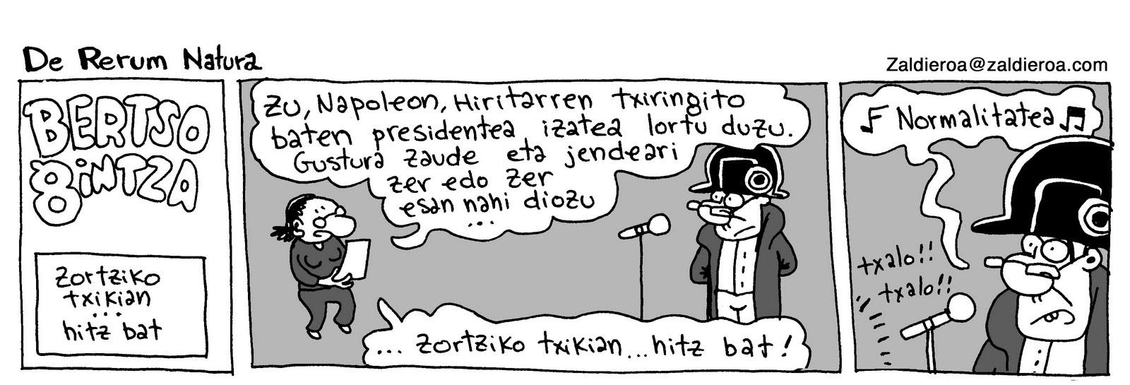 Napoleon Berrian, bertsogintza