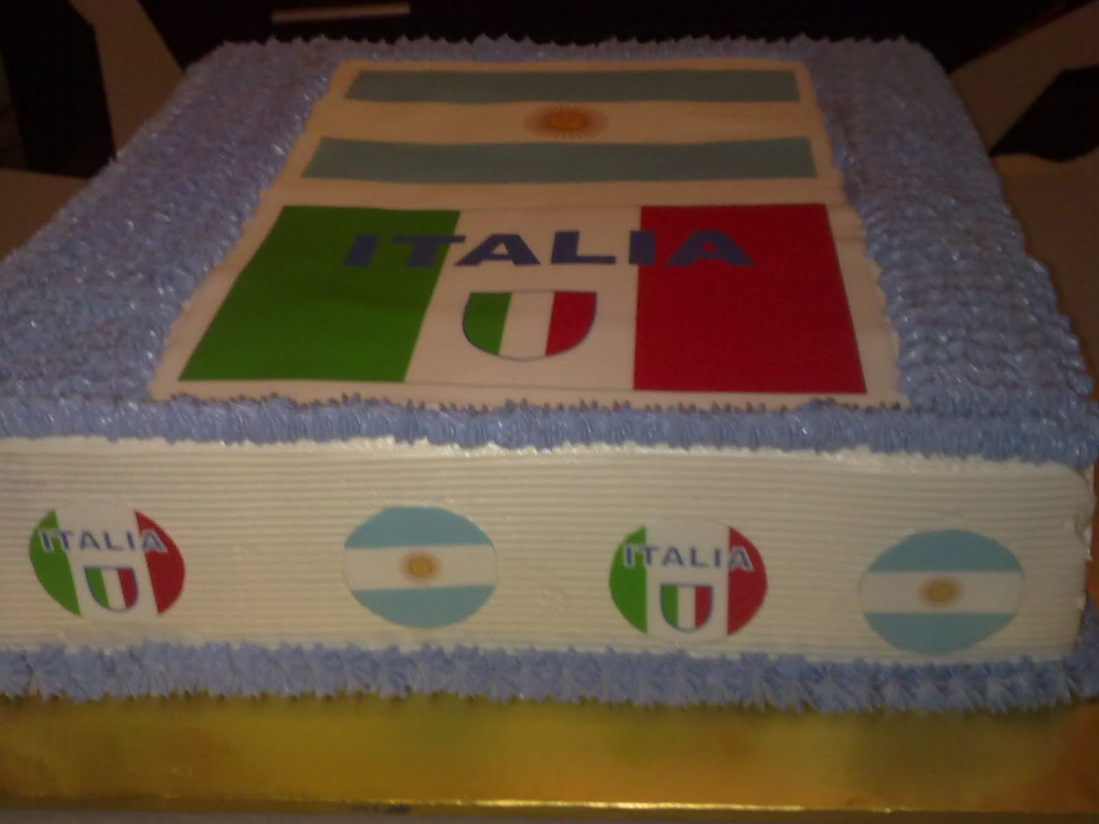 Edible Liverpool Football Cake Decorations