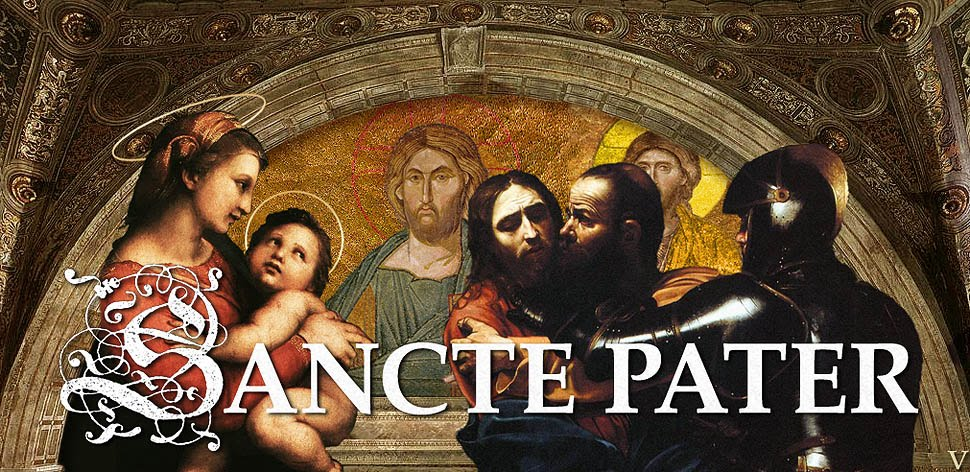 SANCTE PATER