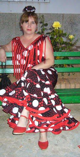 Primer traje flamenca hecho por mí