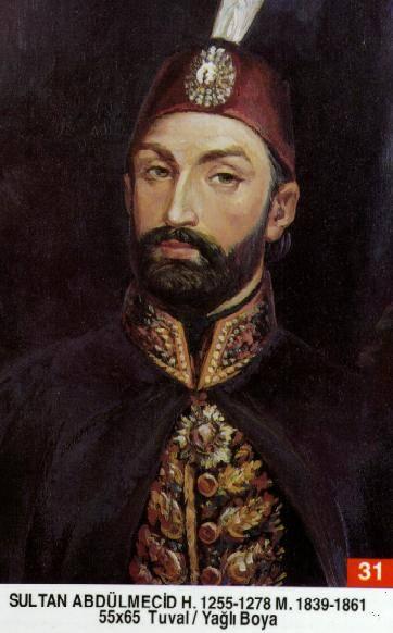 31-I.Abdülmecit-1823 – 1861