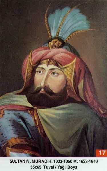 17- IV. Murad (1623–1640)Murad_IV