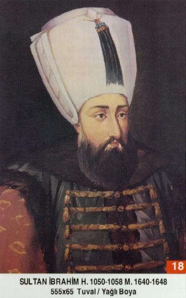 18 I. İbrahim (1640–1648) Ibrahim_I