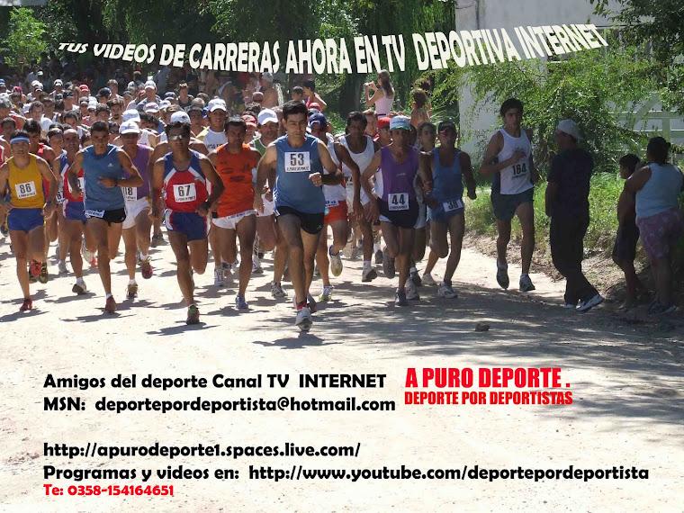 Te esperamos en Nuestros Canales Television  Web
