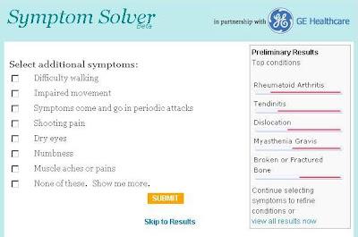 mayo clinic symptom  solver