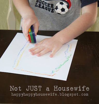 cray7 Rainbow Crayon Tutorial