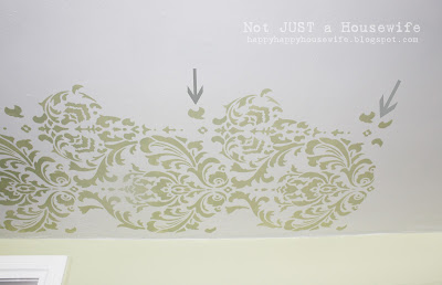 9room edited 1 Stenciled Ceiling