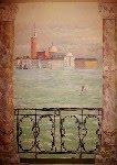 """Secco Wandmalerei in Miskolc(Venedig)"""