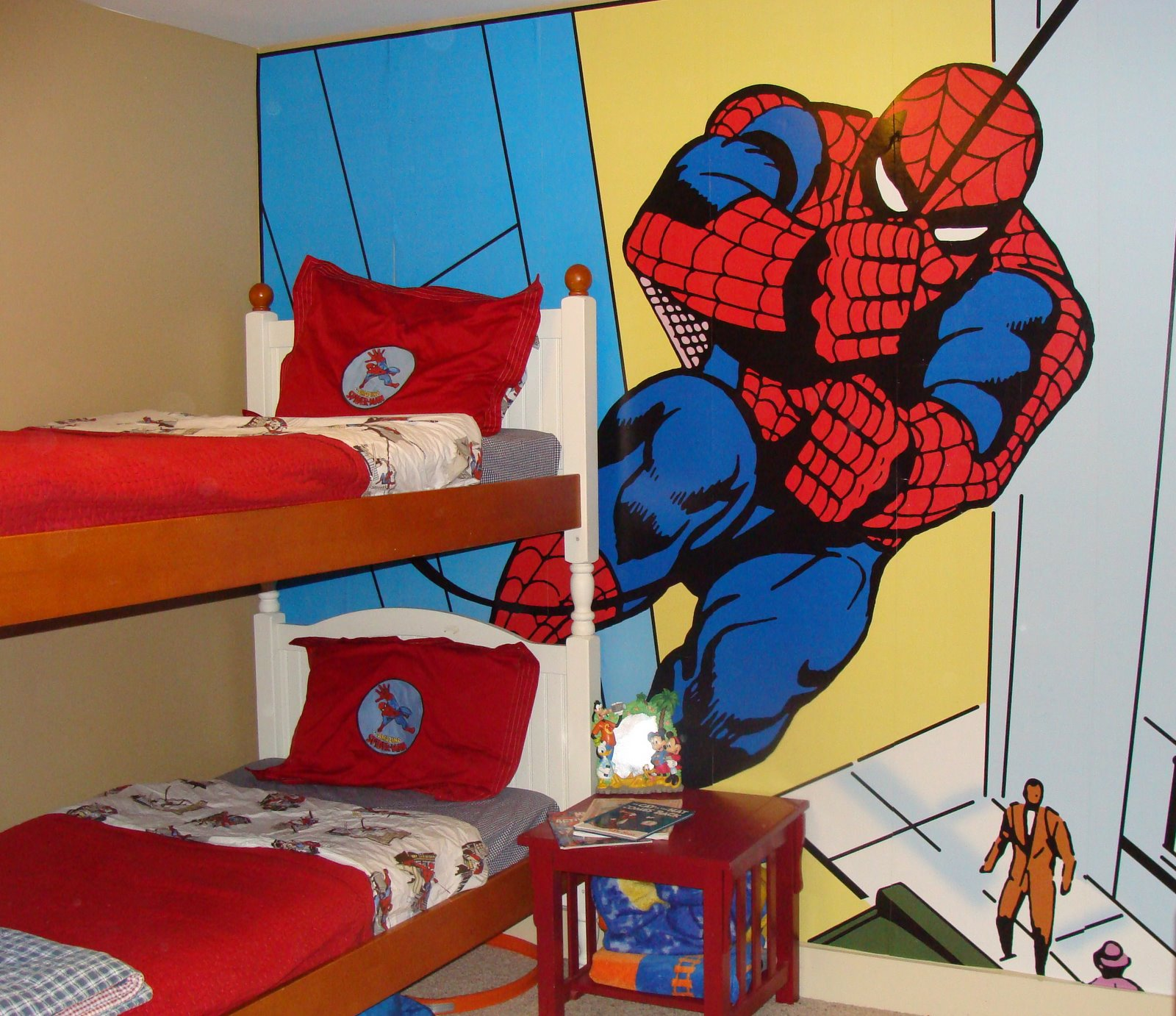 The Savage S Spider Man Room