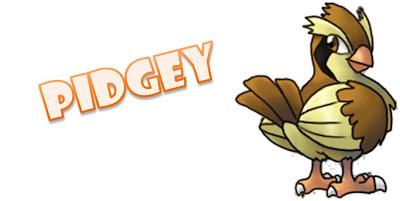 Ilha dos Pokémons Bitz Pidgey
