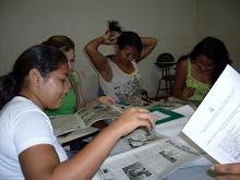 Participantes da Oficina do Programa de Extensão Arte na Escola