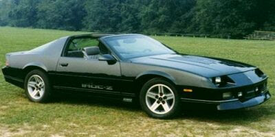 famous muscle car chevrolet camaro 1982 1992. Black Bedroom Furniture Sets. Home Design Ideas