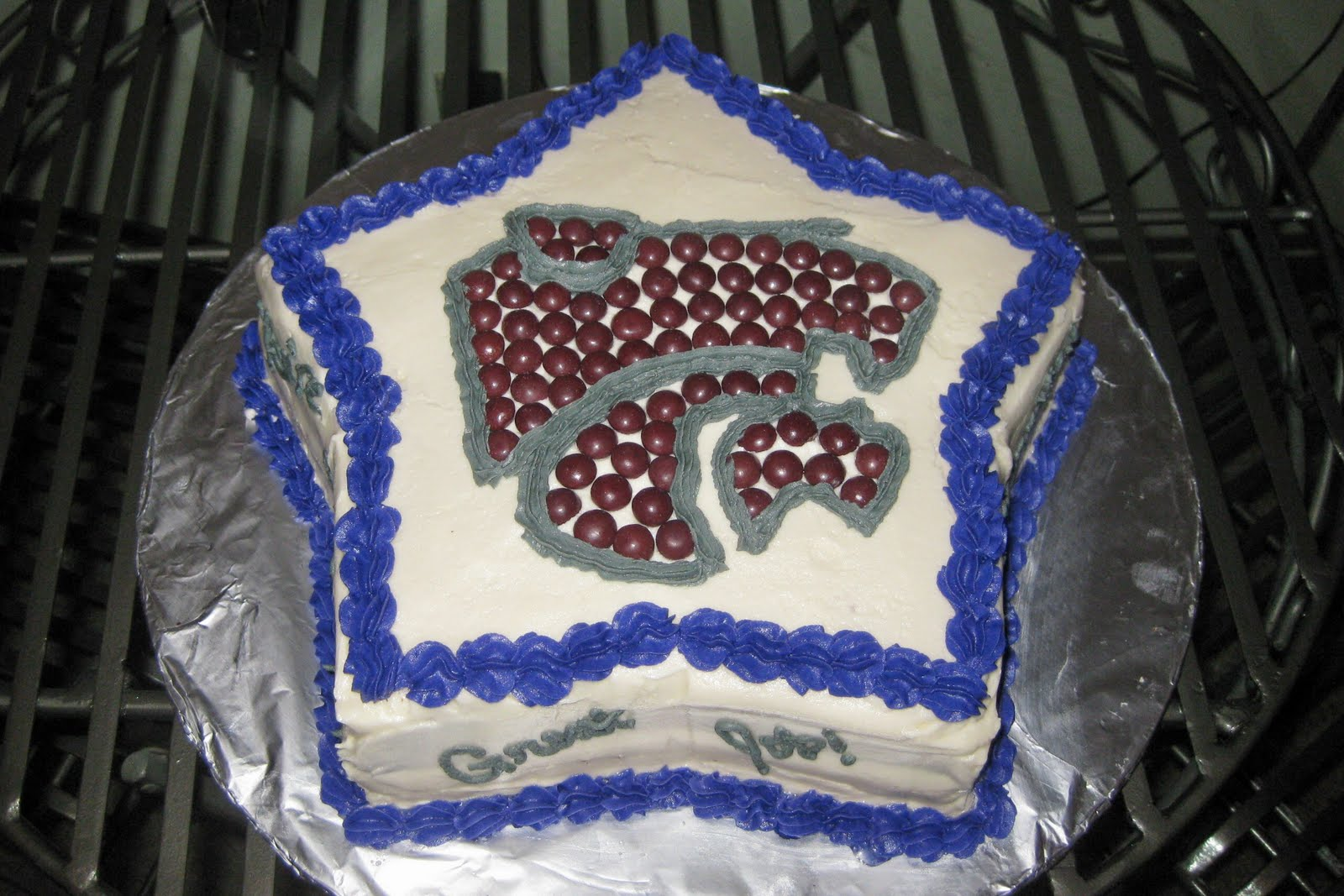 SugarLips Cakery: KSU Wildcats!