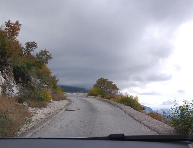 Mountain road, Montenegro