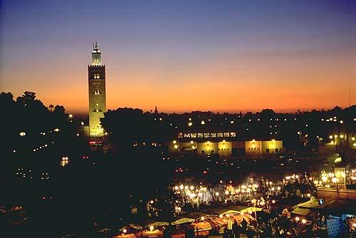 Fantastiske Marrakech/Djema el Fnaa