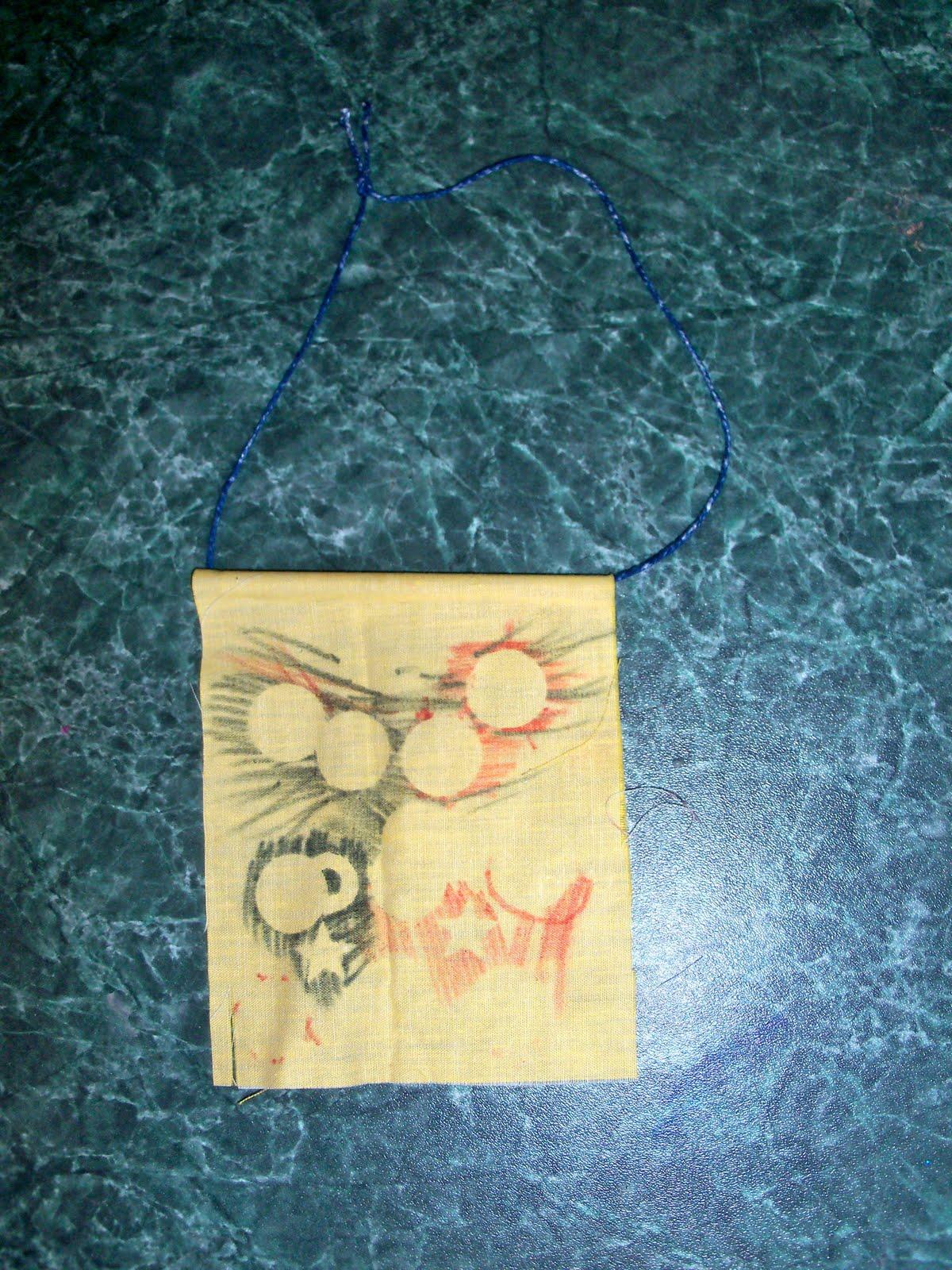 Textiles4you: Tuesday\'s Tot Craft Time: Batik Wall Hanging & A Crown