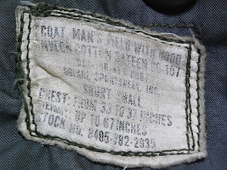 m65 field jacket labal