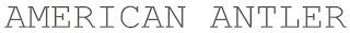 american antler logo