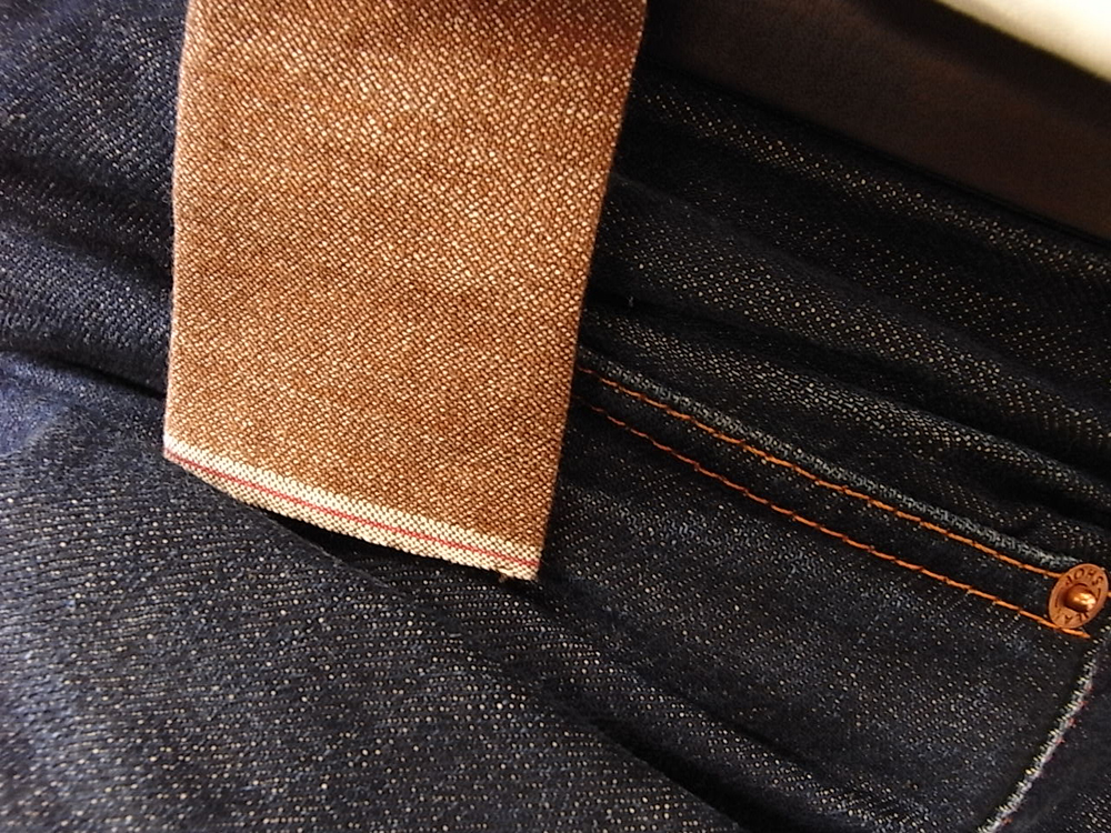 hill-side brown convert chambray tie