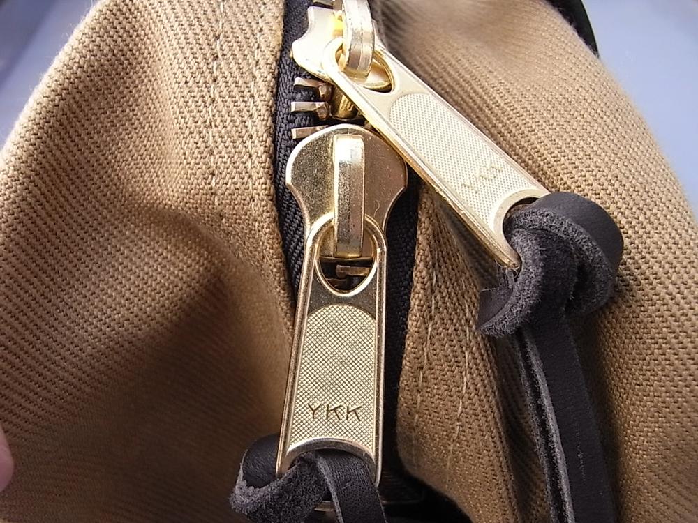 filson zipper tote