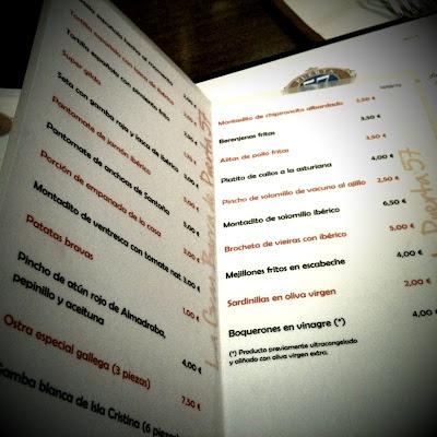 Gourmet esquire puerta 57 una barra de mucha altura for Puerta 57 restaurante