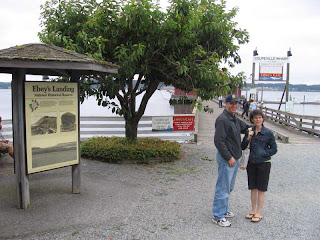 John and Susan at Coupeville Wharf