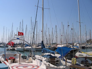The Odyssey: Marina in Kusadasi, Turkey